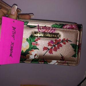 Betsey Johnson ID Wristlet / wallet